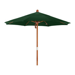California Umbrella - 7.5 Foot Olefin Fabric Marenti wood market umbrella with pulley - California Umbrella, Inc. has been producing high quality patio umbrellas and frames for over 50-years. The California Umbrella trademark is immediately recognized for its standard in engineering and innovation among all brands in the United States. As a leader in the industry, they strive to provide you with products and service that will satisfy even the most demanding consumers.