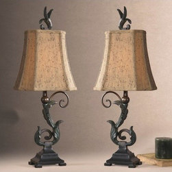 Uttermost - Caperana Buffet Table Lamp (Set of 2) - 29271-2 - Set of 2 buffet table lamps
