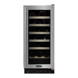 "Marvel - 23 Bottle Wine Cooler, Right Hinge - Dimensions:  34-1/4""H x 14-7/8""W x 23-5/8""D"