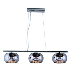ET2 - ET2 E21204-10 Sense Single-Tier Chandelier - Product Features: