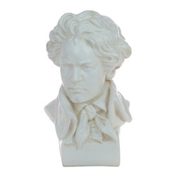 Casa de Arti - Famous German Composer and Pianist Ludwig Van Beethoven Bust - Beautiful piece to display in your home or office at an incredible price.