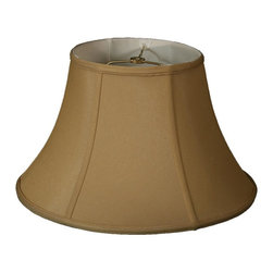Royal Designs, Inc. - Shallow Bell Basic Lampshade - This Shallow Bell Basic Lampshade is a part of Royal Designs, Inc. Timeless Basic Shade Collection and is perfect for anyone who is looking for a traditional yet stunning lampshade. Royal Designs has been in the lampshade business since 1993 with their multiple shade lines that exemplify handcrafted quality and value.