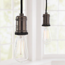 Contemporary Track Heads And Pendants by Pottery Barn