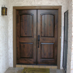 Estancia Entry Doors - Estancia double door by The Front Door Company.
