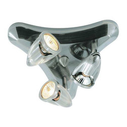 Trans Globe Lighting - Trans Globe Lighting W-463 BN Track Light In Brushed Nickel - Part Number: W-463 BN