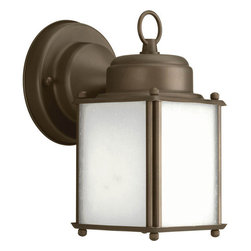 Progress Lighting - Progress Lighting P5986-20 Roman Coach Single Light Small Square Outdoor Wall - Features: