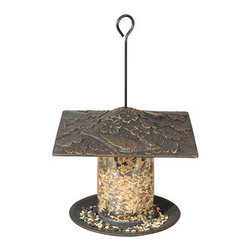 """Whitehall Products LLC - 6"""" Cardinal Tube Feeder - Oil Rub Bronze - Features:"""