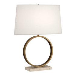 Robert Abbey - Robert Abbey Table Lamp 2295 - Aged Brass Finish