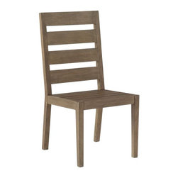 Jardine Ladderback Chair - With outdoor furniture looking more and more like it belongs indoors, dining chairs like these are a great option if you host a lot of dinner parties. You can store them outside in stacks, and when you bring the chairs in for guests, they won't look like they belong on the patio.