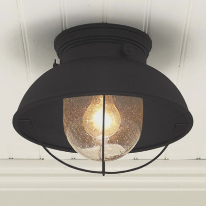Modern Outdoor Flush-mount Ceiling Lighting by Shades of Light