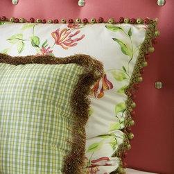 Custom Bedding - Decorating Den Interiors