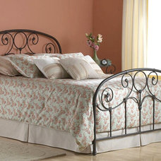 Eclectic Beds by Iron Accents