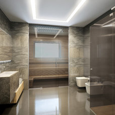 Modern Bathroom by Design Studio Y&S architecture-interior design