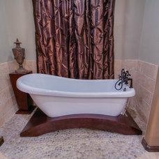 Transitional Bathtubs by Wyatt Poindexter of Keller Williams Elite