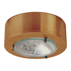 Elco - Elco E228 Mini Downlight - Mini Downlight with Clear Glass LensElco's Surface Mount Mini downlights are an excellent source wherever a small powerful light is needed. The Mini lights may be recessed mounted. They can be dimmed with a low voltage electronic dimmer. They can also be used with remote transformers. Elco has designed a wide variety of trims to go with the mini downlights.Features: