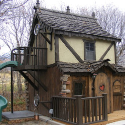 Bavarian Cottage Playhouse