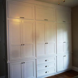 Custom Shaker Wardrobe for 1920s Vintage Bungalow in the Heights - Jared Meadors
