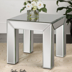 "24220 Ikona, End Table by uttermost - Get 10% discount on your first order. Coupon code: ""houzz"". Order today."