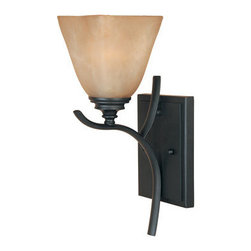 """Designers Fountain - Designers Fountain 81901 Single Light Up Lighting 5"""" Wide Bathroom Fixture from - Features:"""