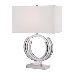 """Kovacs - Kovacs P1600-613 1 Light 24.5"""" Height Accent Table Lamp Portables Colle - Single Light 24.5"""" Height Accent Table Lamp from the Portables CollectionFeatures:"""