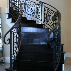 Ultimate Iron Works - Wrought Iron Doors and Stairs .