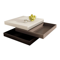Tosh Furniture - Square Coffee Table - Square coffee table. High gloss lacquer finish.