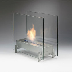 Eco-Feu Horizon Biofuel Fireplace - The Eco-Feu Horizon Biofuel Fireplace is ideal for creating real warmth, mood and ambiance. It runs on bio-ethanol fuel, easy to assemble and   could be the finishing touch your table needs.