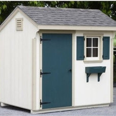 Lancaster County Barns 10 x 6 ft. Quaker Storage Shed - Storage Sheds at Hayneed