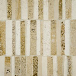 Matchsticks by Ann Sacks - I can only imagine the possibilities with this tile. A beautiful backsplash in kitchen or bathroom. Turn them vertical or horizontal and get a completely different feel.