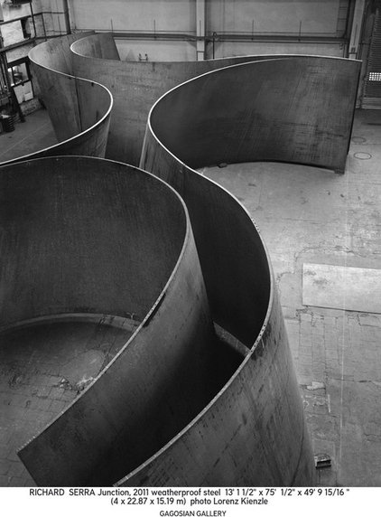Exhibit: Richard Serra, Junction / Cycle, Gagosian Gallery Sept. 14-Nov. 26