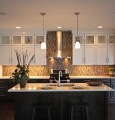 contemporary kitchen cabinets by Starlite Kitchens and Baths