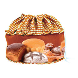 Camerons Products - Bun Warmer Basket - Fall - Keeps breads and rolls hot and moist for up to one hourl! Place rolls directly into warmer after being in the oven or heat in the microwave.