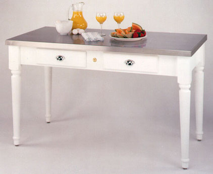 Traditional Kitchen Islands And Kitchen Carts by KitchenSource.com