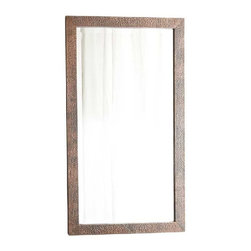 Native Trails - Native Trails Large Milano Mirror in Antique - *Hand hammered copper