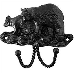 Sierra Lifestyles Decorative Hook - Black Bear - Black - Get Idea About Sierra Lifestyles Decorative Hook - Black Bear - Black, Sierra Lifestyles  Cabinet Hardware, Cabinet  Knobs, Cabinet Pulls , Switch plates, Rustic cabinet hardware, Double Hook, Hook, Decorative Hook, Knobs, Pulls and Decorative Hardware Accessories