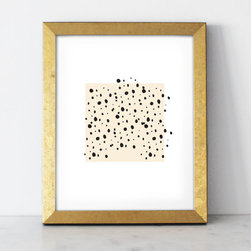 "Spots Print - 8"" x 10"" inches"