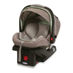 "Graco - Graco SnugRide Click Connect 35 LX Infant Car Seat in Hadley - The supremely lightweight SnugRide Click Connect 35 LX is designed to provide the most convenient infant car seat features and innovative child protection system for rear-facing infants weighing 4 to 35 lbs. and up to 32"" tall."