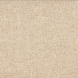 """Close to Custom Linens - 18"""" King Bedskirt Gathered Linen Beige Solid - Linen is a neutral solid beige linen-textured fabric. The fabric is soft, medium weight and has great texture. Gathered with 1 1/2 to 1 fullness, split corners and a 18 inch drop. 85% cotton, 15% rayon with a cotton/poly platform."""