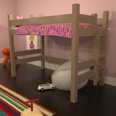 Contemporary Bunk Beds by Maine Bunk Beds