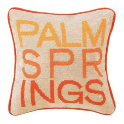 Palm Springs Pillow- Orange - Clayton Gray Home -
