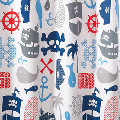 Bambi Pirate Shower Curtains