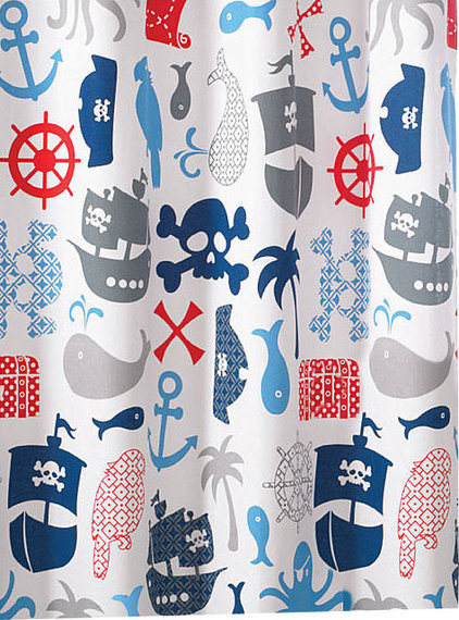 Eclectic Shower Curtains by Luxor Linens