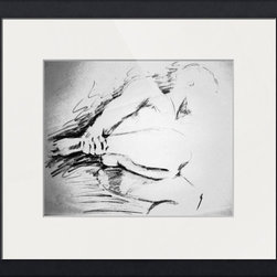 Male Abstractish nude -