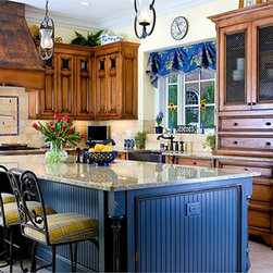 Cover Photos - The hand built kitchen is built with solid wood construction with over-sized ...