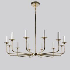contemporary chandeliers by remains.com