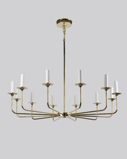 Contemporary Chandeliers by Remains Lighting