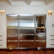 Traditional Refrigerators And Freezers by Leslie Ann Interior Design