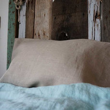 Traditional Decorative Pillows by Rough Linen