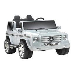 BIG TOYS USA - MERCEDES BENZ G55 12V TRUCK NPL-0592 - Mercedes Benz G55 12v Truck