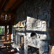 Traditional Patio by Ridge Construction LLC